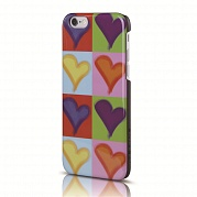 Чехол ITSKINS Hamo для iPhone 6 (color hearts)