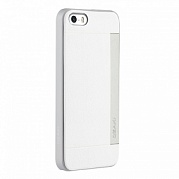 Чехол Ozaki O!coat 0,3 + Pocket Ultra Slim Case для iPhone 5/5S (белый)